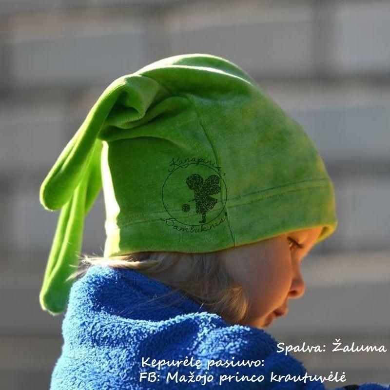 Bambuko veliūras Žaluma / Greenery